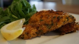 How To Make Parmesan & Lemon Chicken Strips With Zesty Aioli