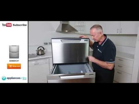 DD60DCX7 Fisher & Paykel unique DishDrawer reviewed by expert - Appliances Online