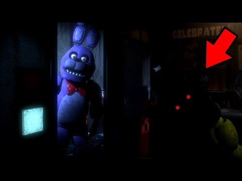 A NEVER BEFORE SEEN ANIMATRONIC IS WATCHING US.. || Five Nights at Freddys Remastered Reborn