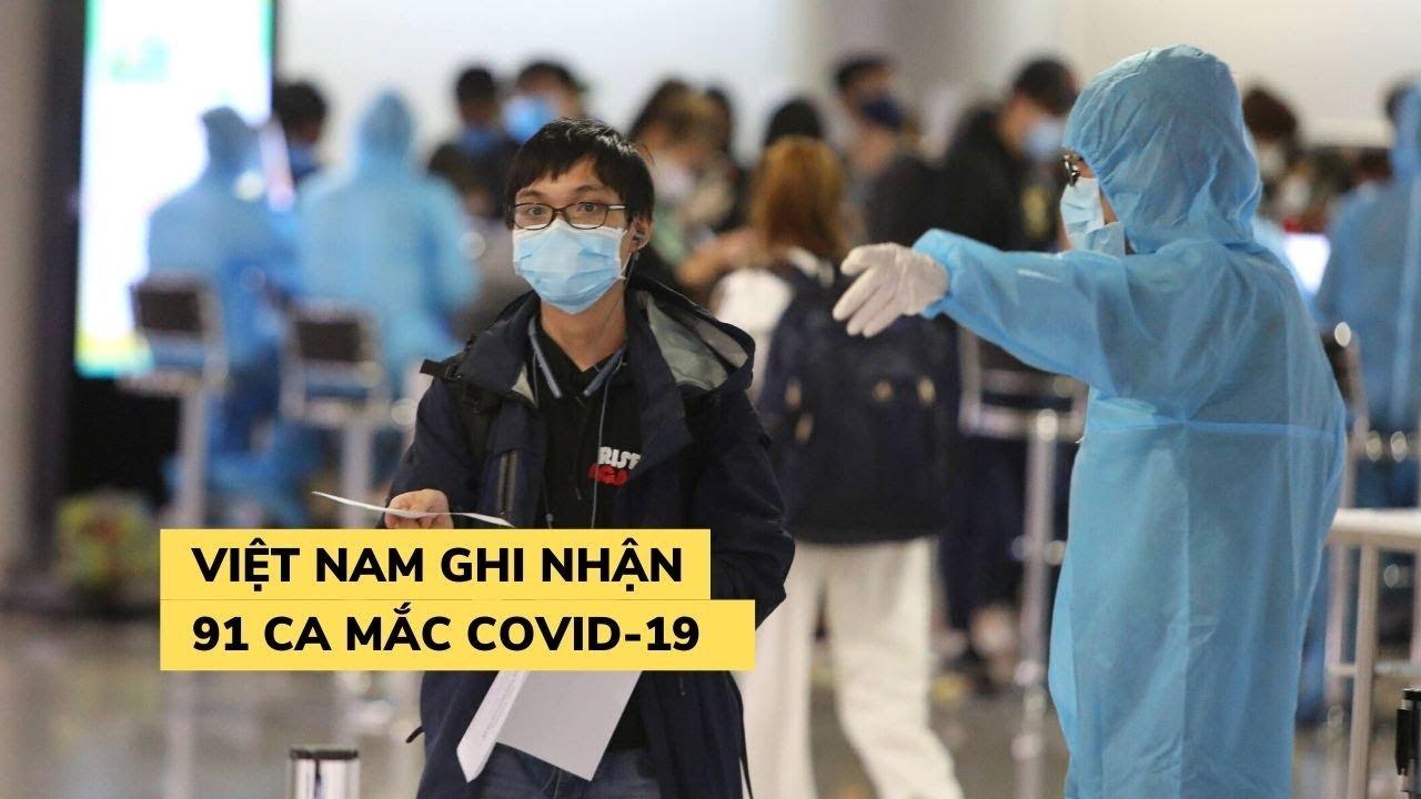 Thêm 4 người nhiễm virus corona, Việt Nam có 91 bệnh nhân Covid-19