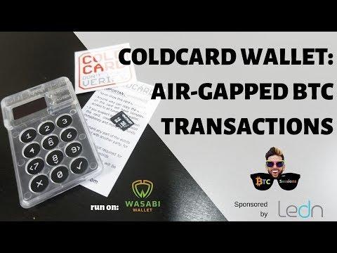 Coldcard Hardware Wallet: True Bitcoin Cold Storage