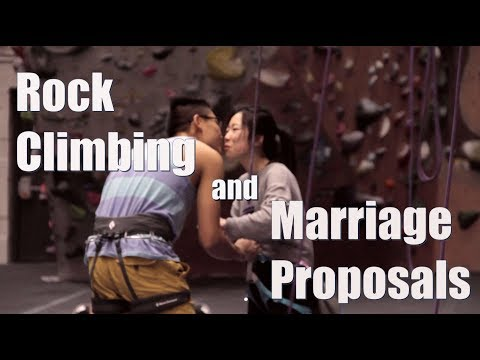 Rock Climbing & Wedding Proposals (fake ANW submission)