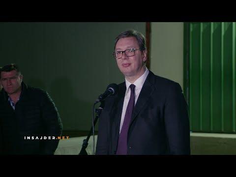 Vučić na pitanja Insajdera: Ne kršim Ustav, mislim svojom glavom i govorim šta mislim