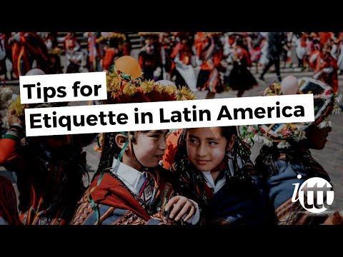 Etiquette Latin America