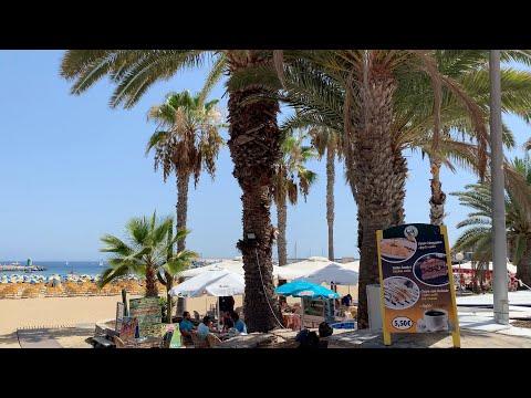 Gran Canaria Puerto Rico Shopping Center To Beach Weather 24.07.2019.