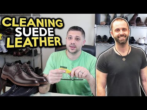 The Best Way to Clean Suede Leather Shoes to Sell on eBay