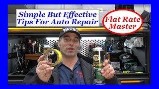 Stupid but effective tips for Auto Repair
