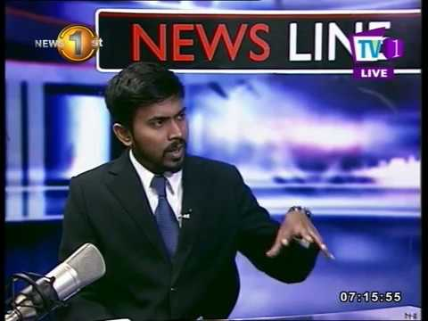 NEWSLINE TV1 Sri Lanka-Singapore Free Trade Agreement and what it means for Sri Lanka?