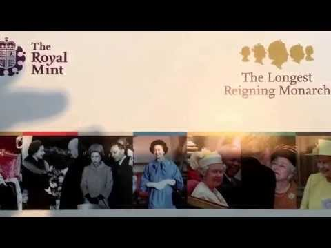 New series from the Royal Mint - the longest reigning Monarch