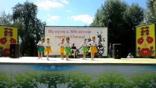 Омск, день России, Стейша, дети, танец Выбражуля(Студия танца и йоги в Омске Staisha. www.staisha-dance.ru., 2015-06-15T08:08:56.000Z)