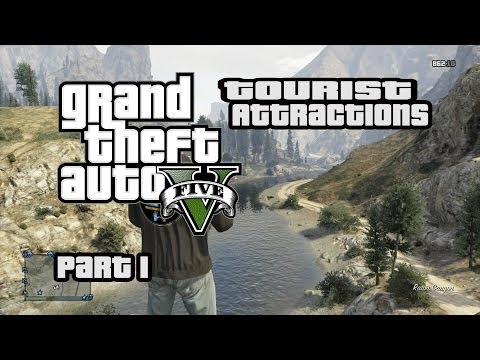 GTA V Tourist Attractions Part 1