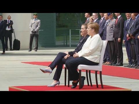 Nach Zitter-Vorfällen: Merkel