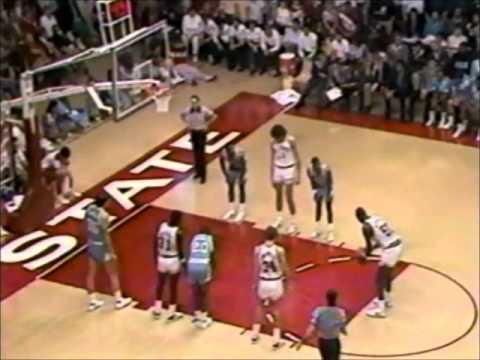 2/23/1986 - UNC Tar Heels vs. NC State Wolfpack