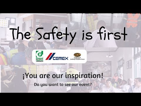 In Carib Cement Operation the  Safety is first - Carib Cement/CEMEX