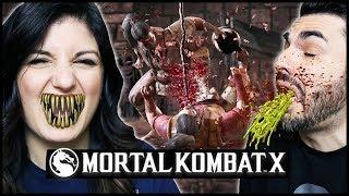 MORTAL KOMBAT XL NUOVE FATALITY DA VOMITO