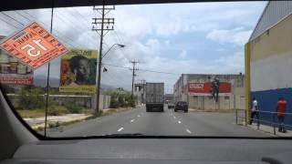 downtown road to the airport - Kingston, Jamaica May 2015