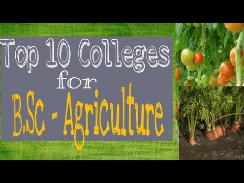 Top Colleges for B.Sc Agriculture !! Best college for Bsc agriculture by The Fun Book the fun book