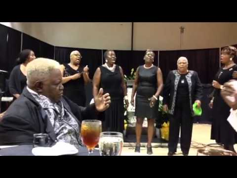 Albany Civil Rights Institute Freedom Singers at the banquet in Americus, Ga.