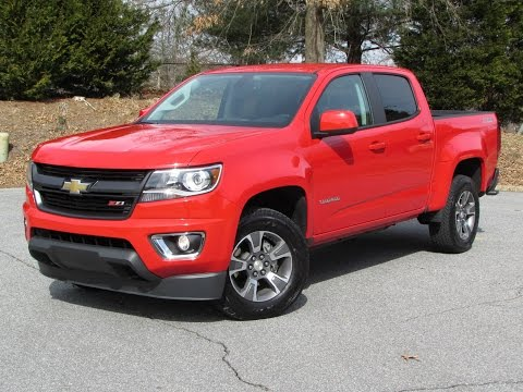2015 Chevrolet Colorado Z71 Start Up, Road Test, and In Depth Review