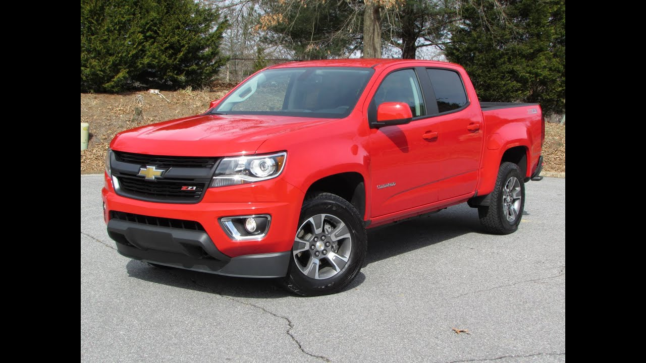 2015 chevrolet colorado z71 start up, road test, and in depth