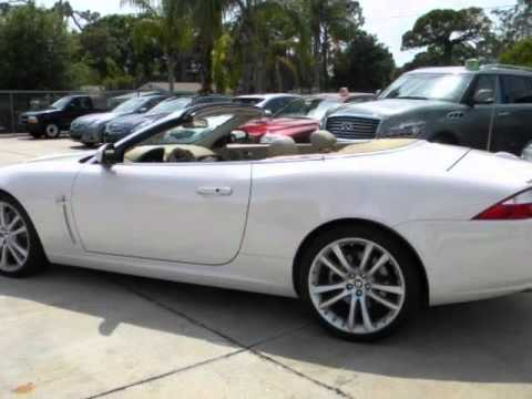 Great 2007 JAGUAR XK 2dr Convertible NAVIGATION