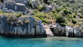 Экскурсия в Турции| Кекова-Демре-Мира-Церковь Святого Николая Чудотворца| июнь 2017 год
