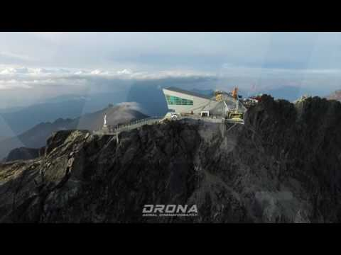 Teleferico Mukumbari, Merida - Flying Drone Over 17060 Ft -  5200 msnm