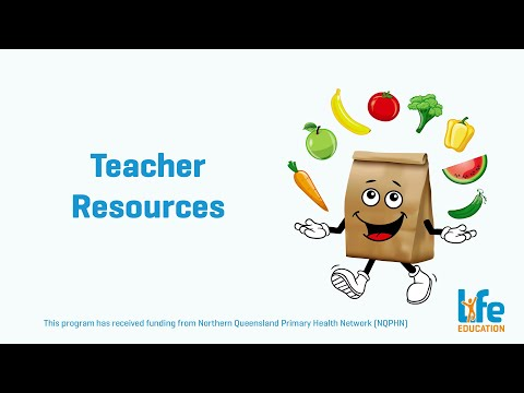 Healthy Eats Teacher Resources