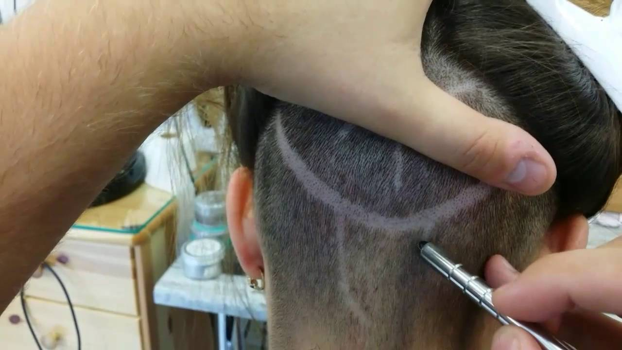 Pen Razor Hair Tattoo Youtube