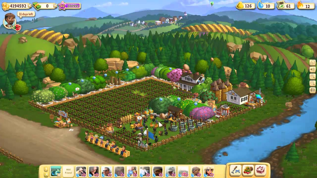 Farmville 2 level 61 Level Up! New levels have arrived