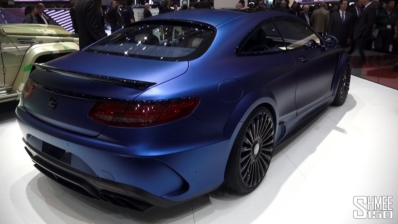 FIRST LOOK: Mansory S63 AMG Coupe Diamond Edition - Geneva ...