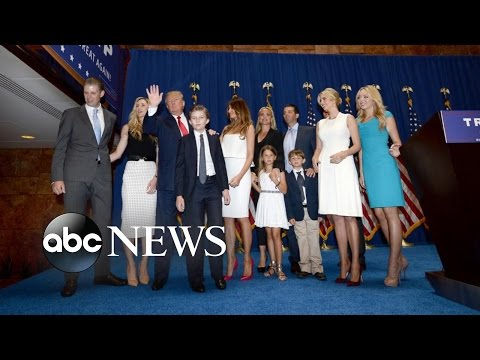 Election 2016: The President-Elect's Family