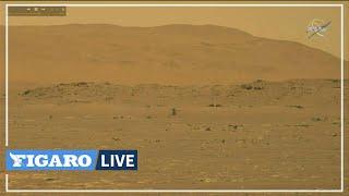🚁 La Nasa réussit à faire voler un hélicoptère sur MARS