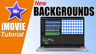 iMovie Tutorial   New Solid and Textured Backgrounds