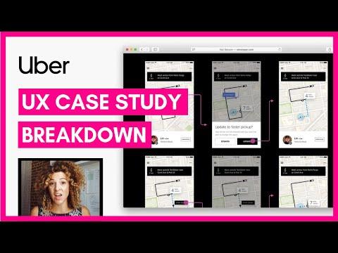 UX Case Study Example: Uber App | Sarah Doody, UX Designer
