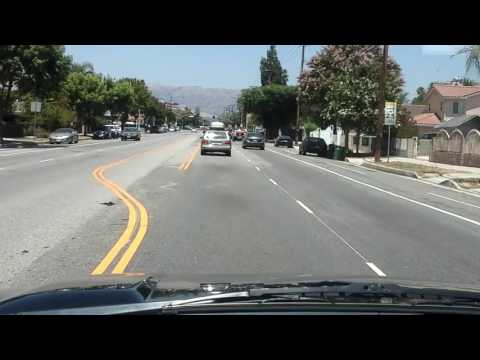 San Fernando Valley, Los Angeles, great areas for Uber category X if you can stand the heat