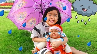 Rain Rain Go Away Song Nursery Rhymes for Kids
