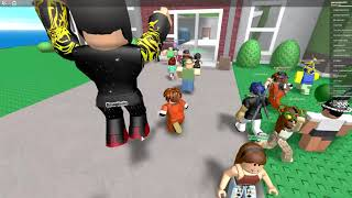 Natural disaster survival (on Roblox)