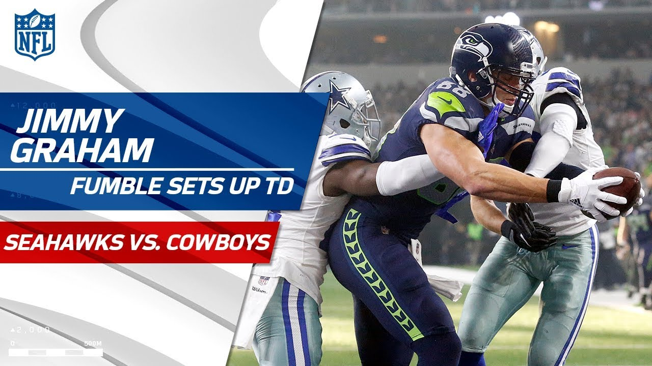 Maxwell Forces Bryant Fumble To Set Up Wilson S Td Pass Seahawks Vs Cowboys Nfl Wk 16