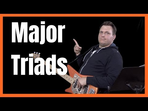 Major Triads and Inversions You Need To Know on Bass | Music Theory for Bass