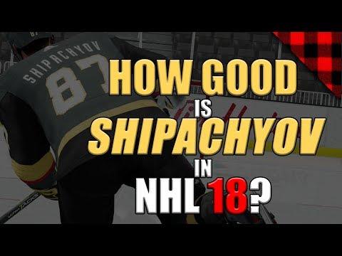 How Good Is Shipachyov? | NHL 18 Simulation