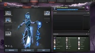 Dota 2 - Immortal Severing Crest New Static Link effect