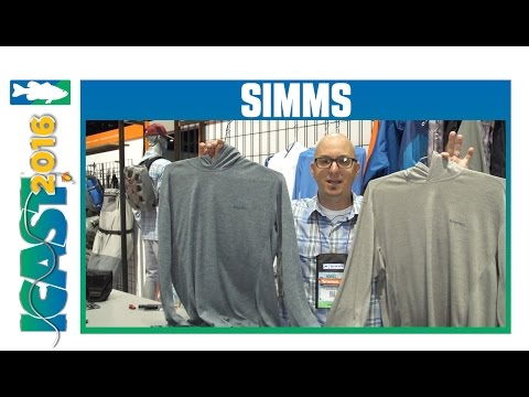 Simms Bugstopper Hoody With Simms Rep Jon Sherman | ICAST 2016