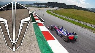 Drone vs. Formula 1 car [Marc Márquez]