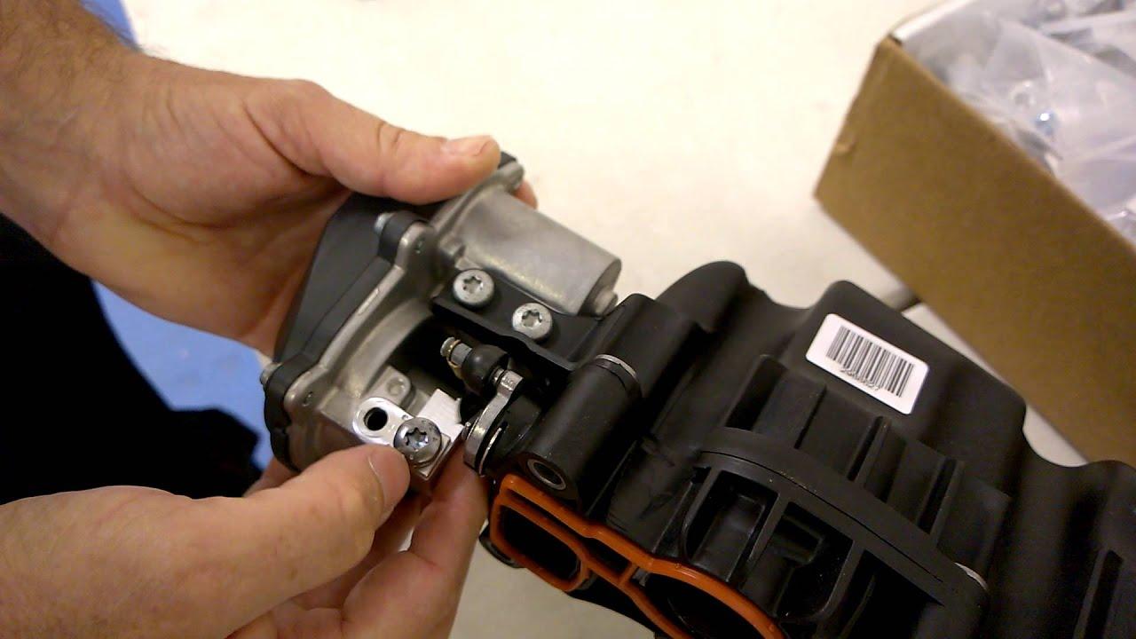 P2015 Repair For 03l 129 711ag Black Plastic Manifold