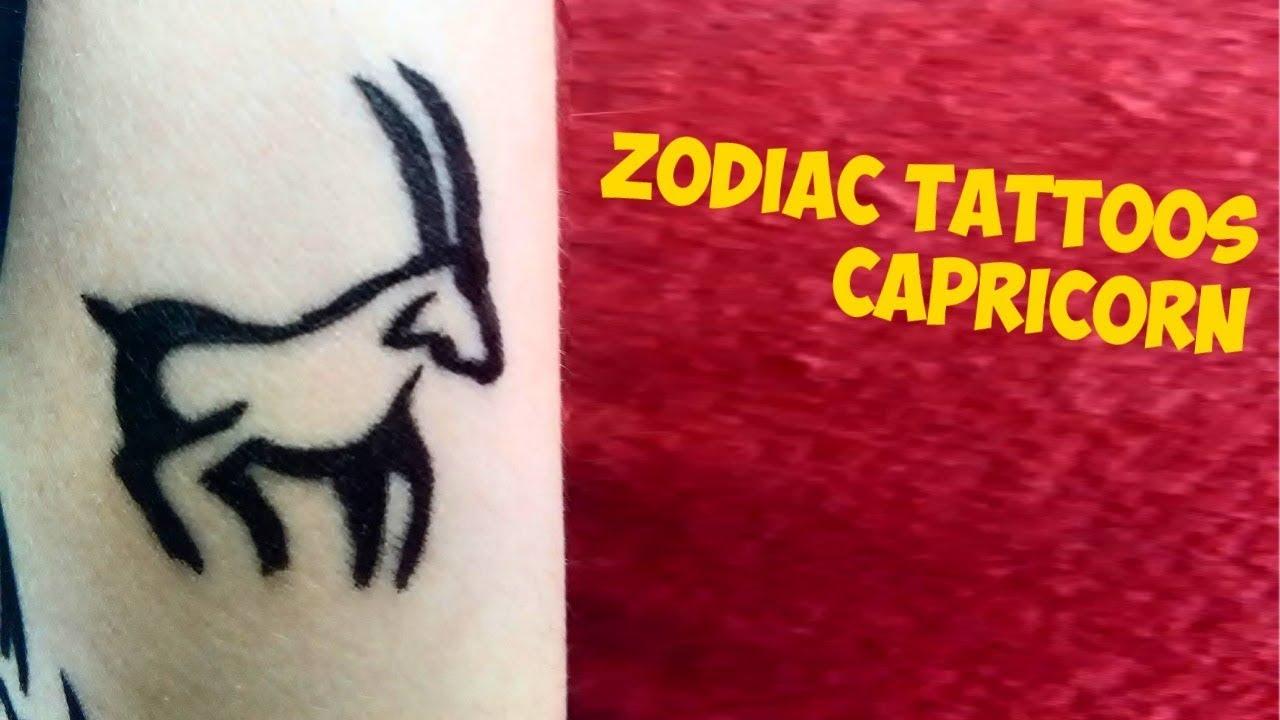 9390fd50c3a80 Zodiac Signs Tattoos: Capricorn. Tattoo World