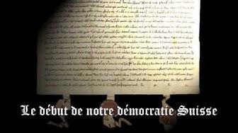 Le Pacte fédéral de 1291