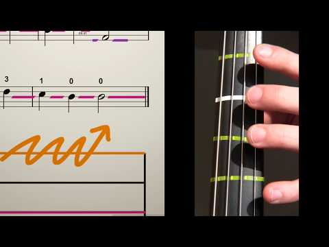 How to play ODE TO JOY on Cello for Beginners   Easy Scores