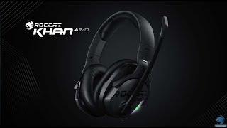 Niepozorny ideał? ROCCAT KHAN AIMO 7.1 HiResAudio - test i recenzja słuchawek  - VBT