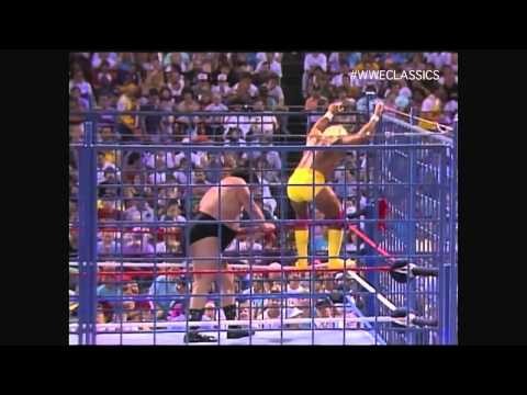 WWF (WWE) Wrestlefest, 1988 - Hulk Hogan vs. André the Giant in a Steel Cage